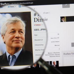 JP Morgan Chase CEO, Jamie Dimon