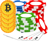 Bitcoin Poker Icon