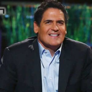 Mark Cuban and Unikrn logo